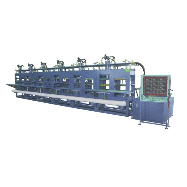 LC-0201二次發泡油壓機(噴水式) 1