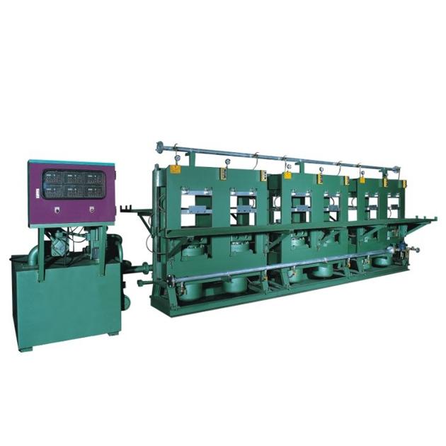 LC-0850 Hydraulic rubber sole pressing machine 1